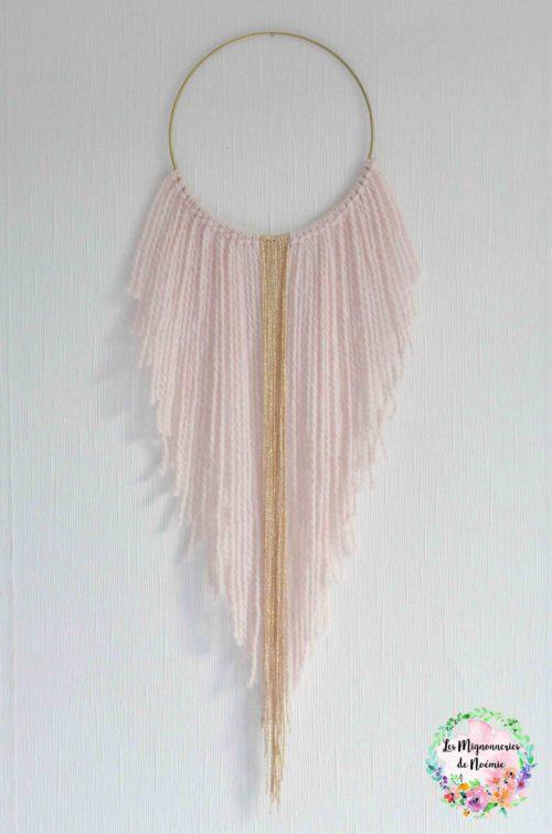 attrape-rêves Goldy Pink