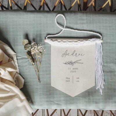 bannière de naissance