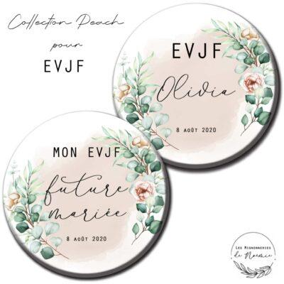 badge EVJF personnalisé